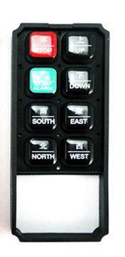 Панель кнопок пульта радиоупраления  серии F21-E1B